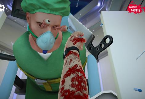Χειρούργοι παίζουν Surgeon Simulator και στέλνουν τους ασθενείς τους στον… άλλο κόσμο!