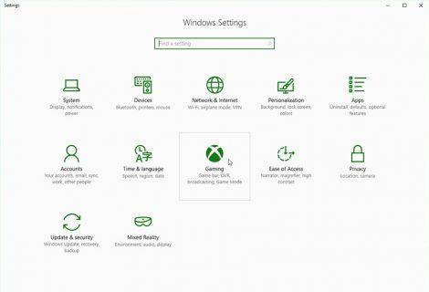 Σύντομα διαθέσιμο για δοκιμή το game mode των Windows 10
