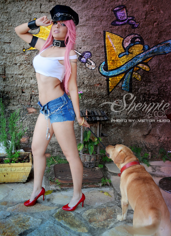 Poison Shermie Cosplay (11)