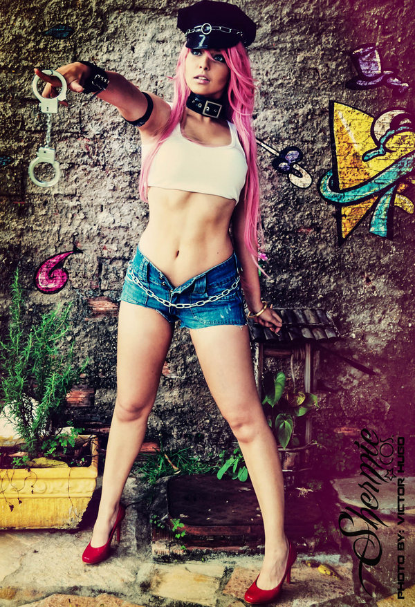 Poison Shermie Cosplay (14)
