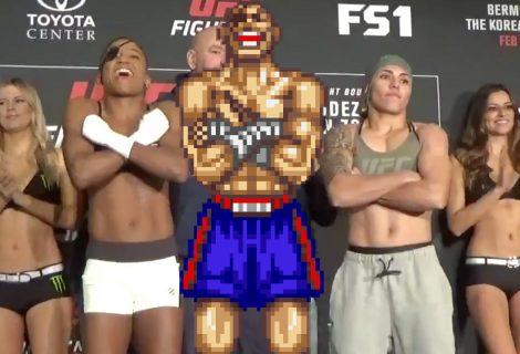 Πρωταθλήτρια του MMA «τιμάει» τον Sagat του Street Fighter!