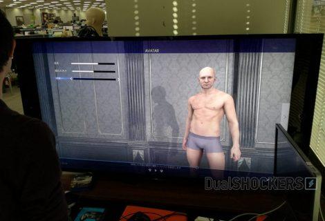 Final Fantasy XV: screenshot από το εργαλείο δημιουργίας χαρακτήρων
