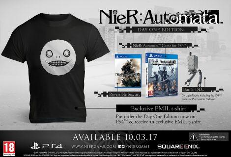 To video με τα μπλουζάκια του NieR: Automata είναι ό,τι πιο παλαβό έχεις δει!