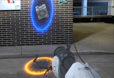 Το Portal σε augmented reality με το Microsoft Hololens!