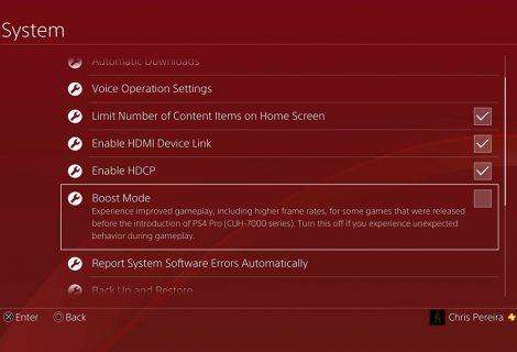 Benchmark του νέου PS4 Pro boost mode σε ένα «βουνό» από παιχνίδια!
