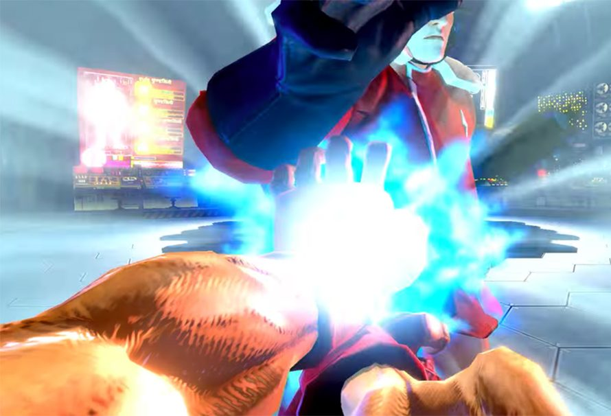 First person mode στο Street Fighter για το Nintendo Switch !!!
