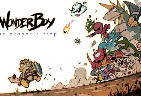Στο Wonder Boy: The Dragon's Trap μπορείτε να εναλλάσσετε από HD στα 8-bit!