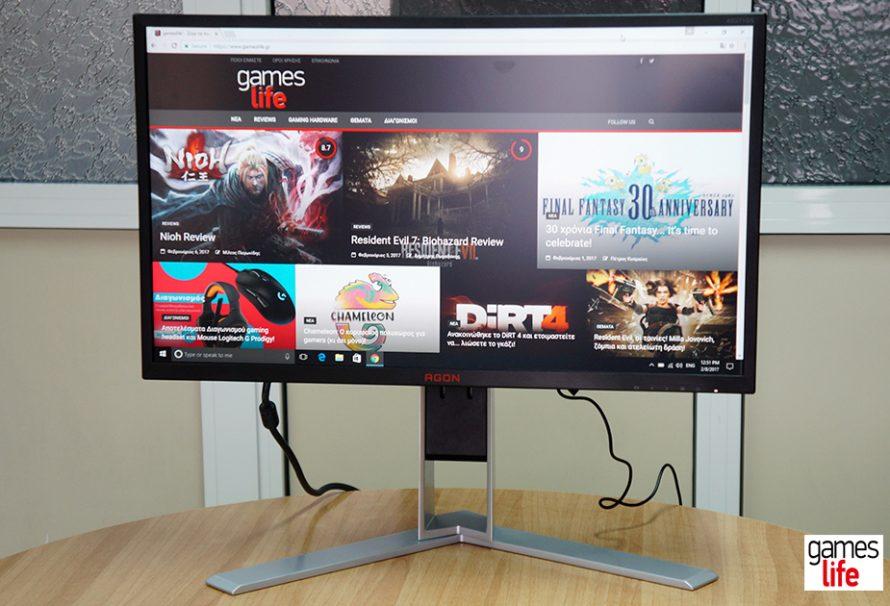 "AOC Agon AG271QG Review ""Gaming monitor για… υψηλές πτήσεις""!"