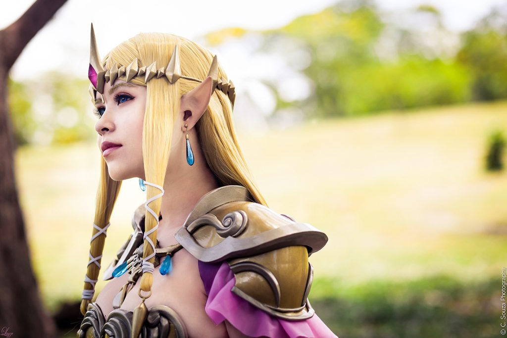 Queen Zelda cosplay (1)