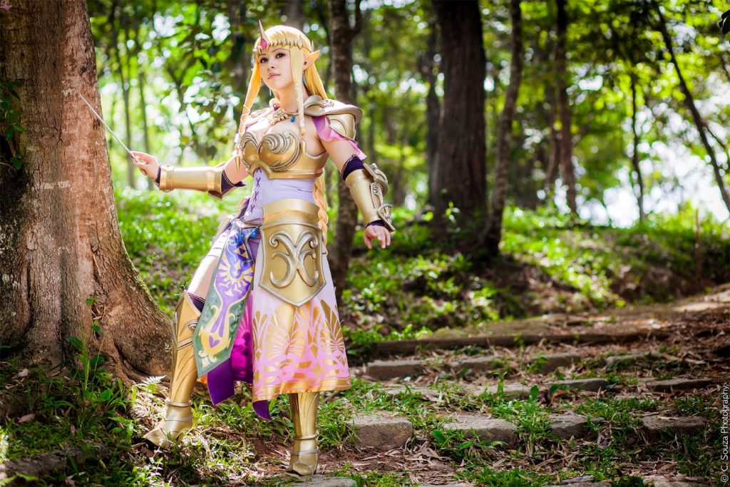 Queen Zelda cosplay (11)