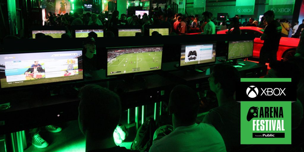 Xbox Arena Festival - Gamers