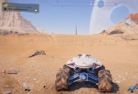 Οδηγώντας το νέο all-terrain όχημα Nomad του Mass Effect Andromeda!