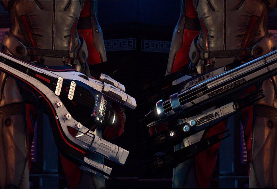 Κιθάρες και στολές από το Mass Effect Andromeda για το Rock Band 4!