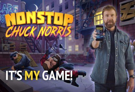 Nonstop Chuck Norris, το mobile game για τον αγαπημένο chuck είναι ένα μικρό... έπος!