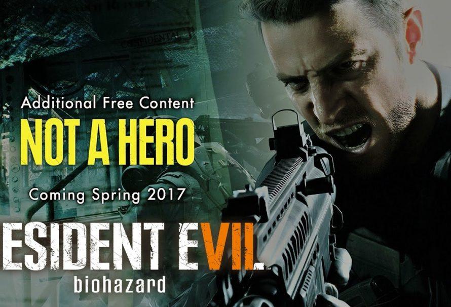 To Free DLC «Not a Hero» του Resident Evil 7 καθυστερεί και οι developers ζητούν συγνώμη!