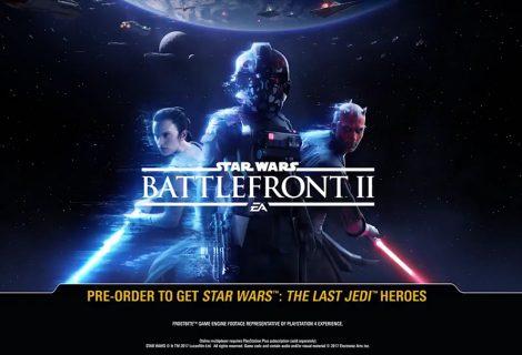 Διέρρευσε το trailer του Star Wars Battlefront 2!