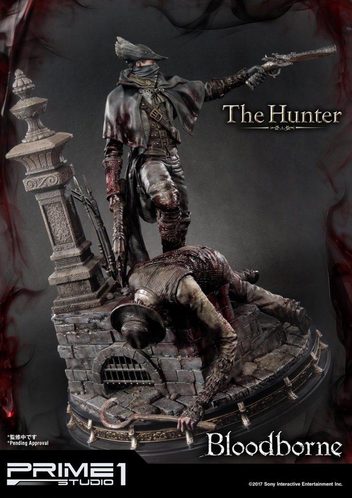 Hunter Bloodborne Statue (1)