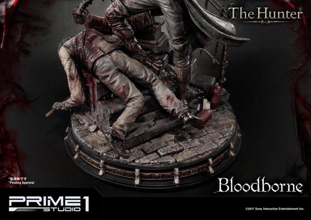 Hunter Bloodborne Statue (13)