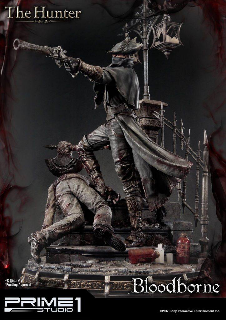 Hunter Bloodborne Statue (2)