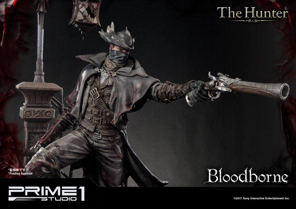 Hunter Bloodborne Statue (3)