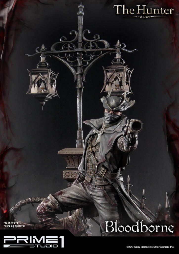 Hunter Bloodborne Statue (5)