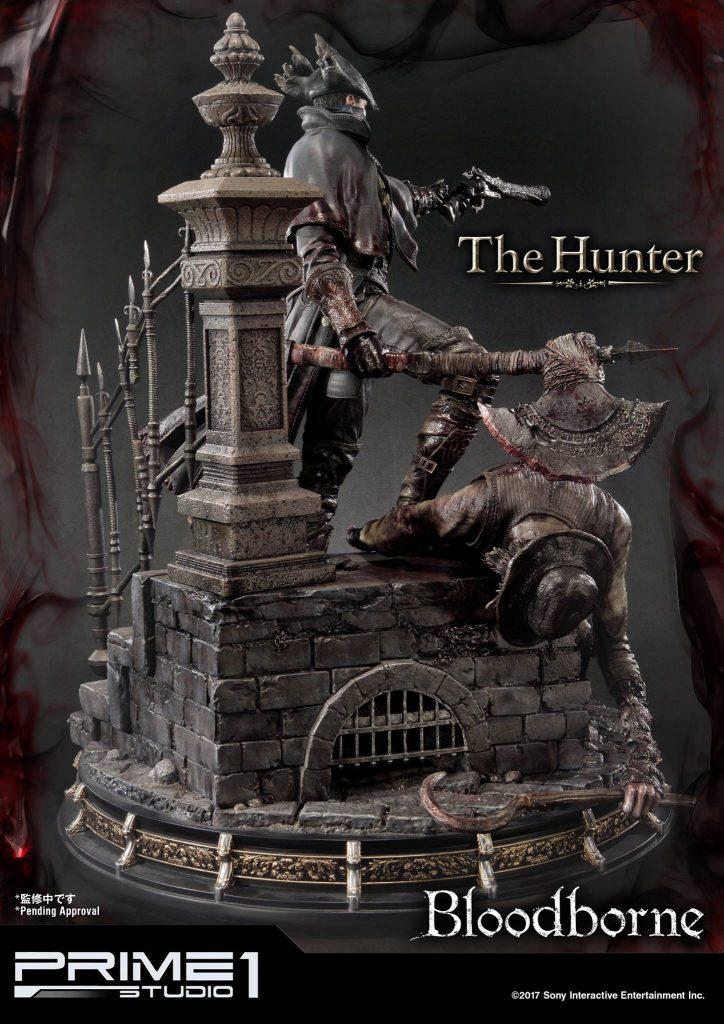 Hunter Bloodborne Statue (7)