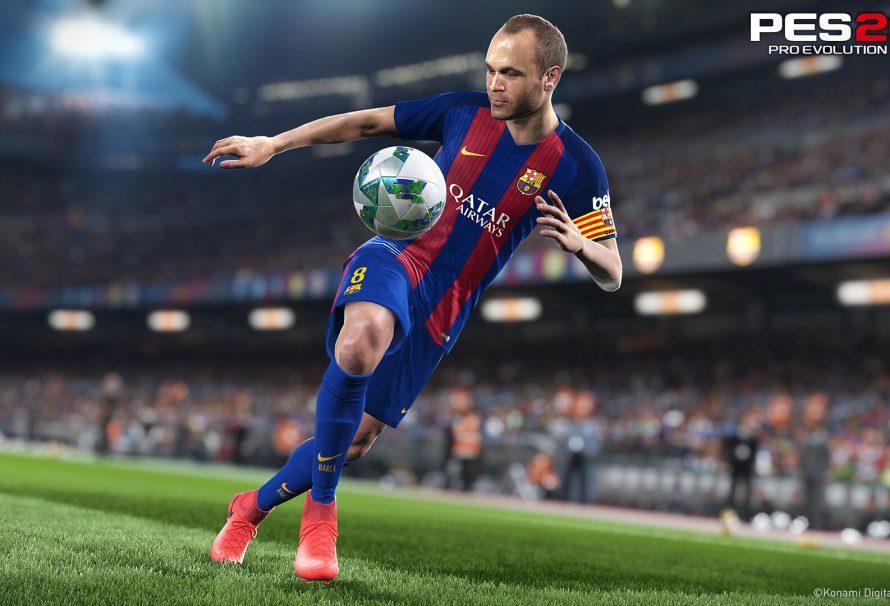 Στις 14/9 τo Pro Evolution Soccer 2018 και η Konami υπόσχεται updated PC version!