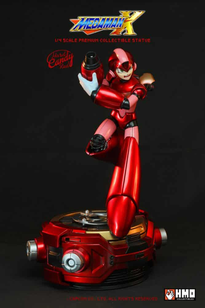 megaman-statue-red