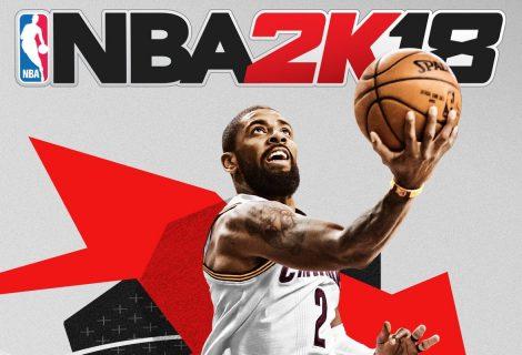 O Kyrie Irving των Cleveland Cavaliers θα είναι το «πρόσωπο» του NBA 2K18!