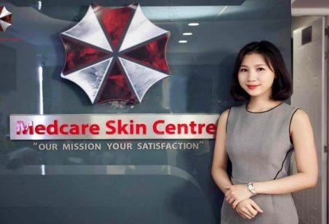 Τρελό γέλιο! Δερματολογική κλινική στο Βιετνάμ χρησιμοποιεί το logo της Umbrella Corp.!