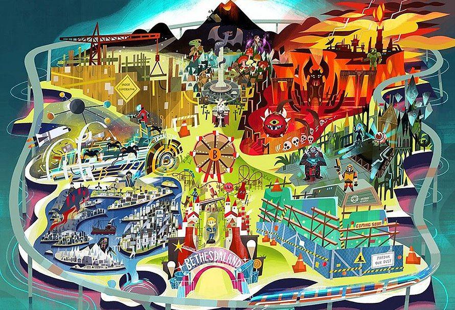 E3 2017 – Όλα τα παιχνίδια της Bethesda και τα trailers τους!