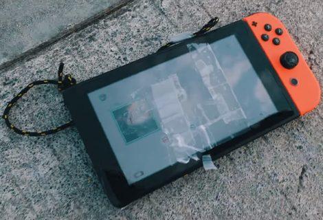 Επικό drop test του Nintendo Switch από 300 μέτρα με drone!