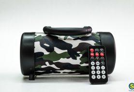 Beach Sound: φορητό ηχείο Bluetooth με USB, FM και τηλεκοντρόλ