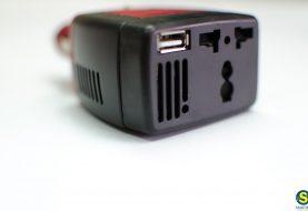 Φορτιστής / inverter 12V / 220V αυτοκινήτου με USB και schuko