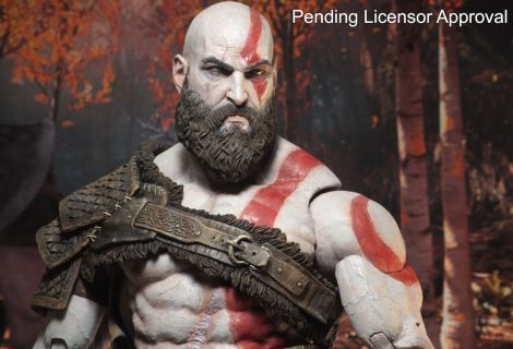 Kratos action figure και τσέκουρι ρέπλικα από το God of War που είναι... ΕΠΟΣ!