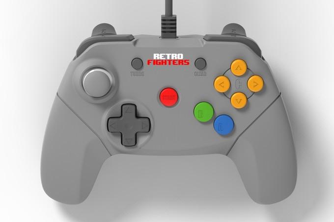 """Τρελό! Ένα """"μοντέρνο"""" controller για το Nintendo 64 τρελαίνει το Kickstarter!"""