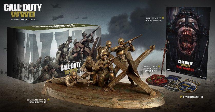Η συλλεκτική Valor edition του Call of Duty: WWII είναι όλα τα λεφτά!
