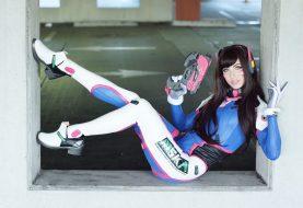 Σούπερ παιχνιδιάρικο D.Va cosplay από την Megan Coffey!