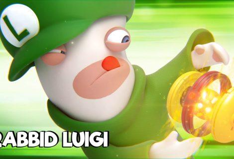 Ο... Rabbid Luigi πρωταγωνιστεί στο νέο trailer του Mario + Rabbids Kingdom Battle!
