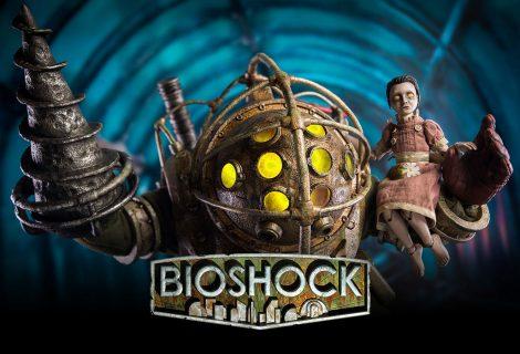 """Απίθανες """"BioShock"""" συλλεκτικές φιγούρες του Big Daddy και της Little Sister!"""
