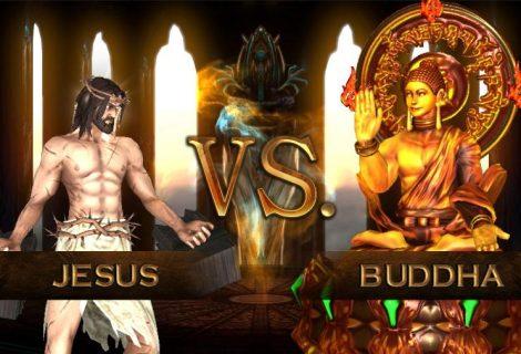 Ιησούς εναντίον Βούδα στο Fight of Gods, το πιο αμφιλεγόμενο game ever!