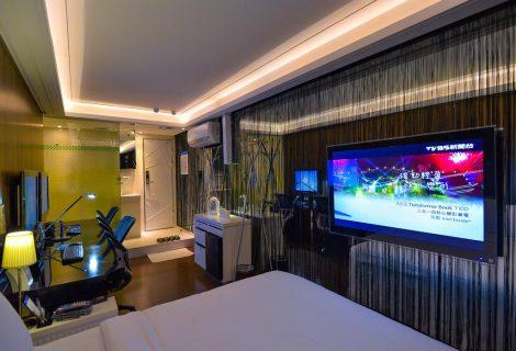 Καινούριο ξενοδοχείο στην Ταϊβάν έχει gaming stations πιο εντυπωσιακά κι από τα δικά μας!