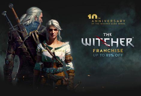 Εβδομάδα εκπτώσεων έως και 85% σε όλους τους τίτλους Witcher