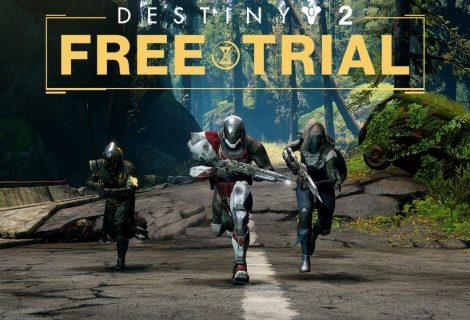 Free Trial για το Destiny 2! Ήρθε η ώρα να το δοκιμάσεις!