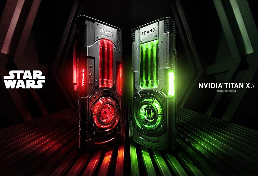 Ειδικές Star Wars εκδόσεις της nVIDIA GeForce Titan Xp με $1.200