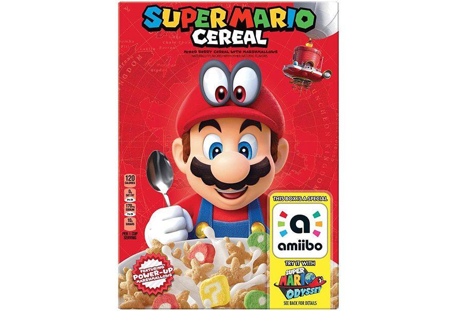 Super Mario τώρα και σε… δημητριακά!