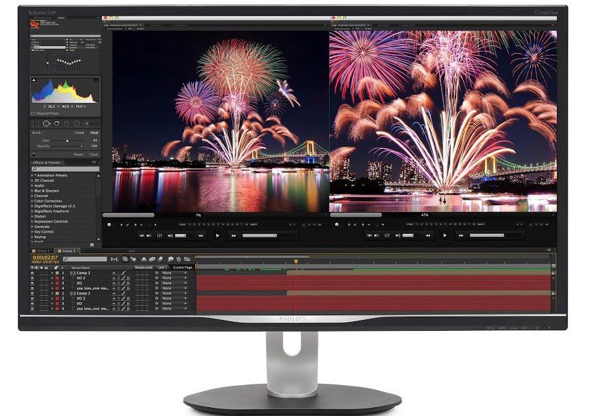 Η εκπληκτική Philips οθόνη Adobe RGB, QHD και υποδοχή USB-C είναι… δύναμη!