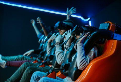 Ήρθε το μοναδικό 360 VR X-TREME Game στο Allou! Fun Park!