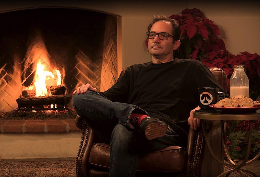 Twitch: ο διευθυντής του Overwatch… απλά κάθεται σε Xmas σκηνικό!