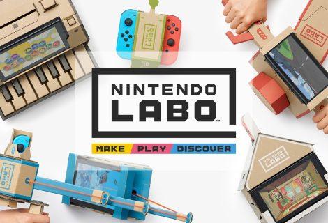 Nintendo Labo και μιλάμε για… «άλλα κόλπα» από την θρυλική εταιρεία!